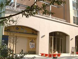 西の通りに面する西川家とバレバレ