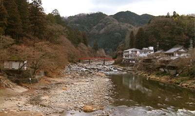 冬の香嵐渓