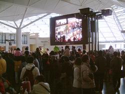 セントレア開港1周年祭 混雑