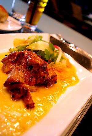 三河赤鶏の西京味噌焼き