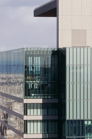ミッドランドスクエアを眺める
