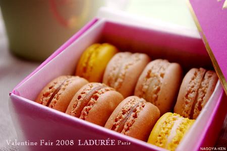 ラデュレ 三越 バレンタインフェア2008