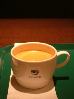 プロントのコーヒー