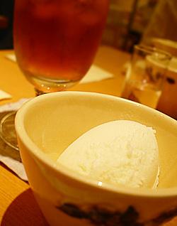 アイスクリーム&アイスティー