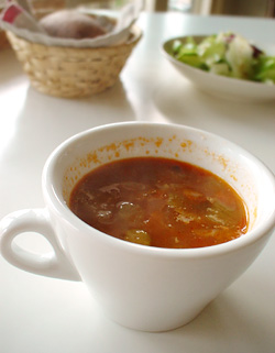 ライスランチのスープ