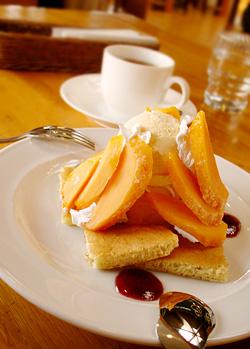 マンゴーのデザート