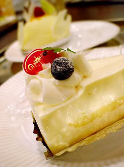 ビクトワールのケーキ