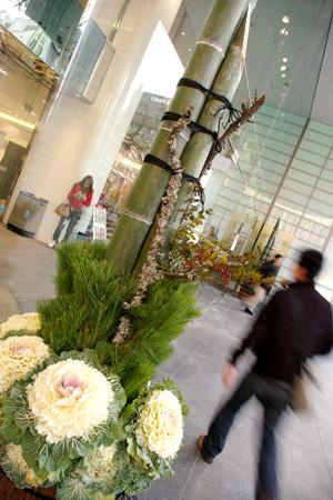 名古屋パルコの門松