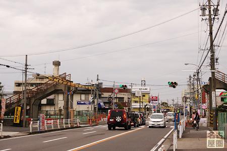 現在の西枇杷島歩道橋
