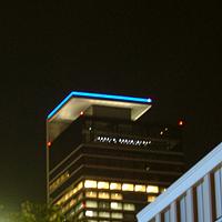 2006年8月10日夜のミッドランドスクエア