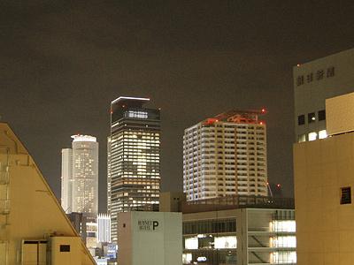 2006年9月14日の名駅摩天楼