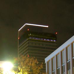 ミッドランドスクエアの雲上演出