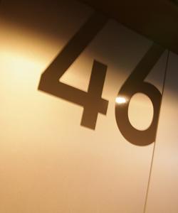 46階に到着