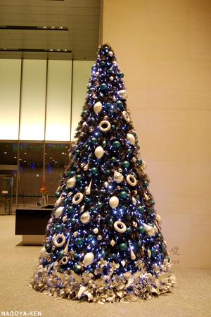ミッドランドスクエアのクリスマスツリー