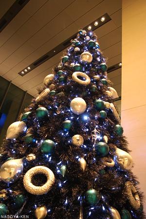 ミッドランドスクエアのクリスマスツリー 近影