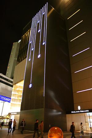 ミッドランドスクエアのイルミネーション