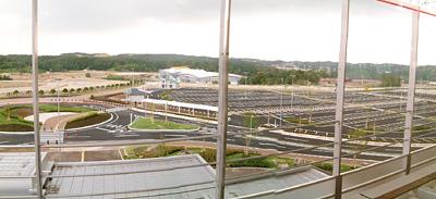 北入口と北駐車場
