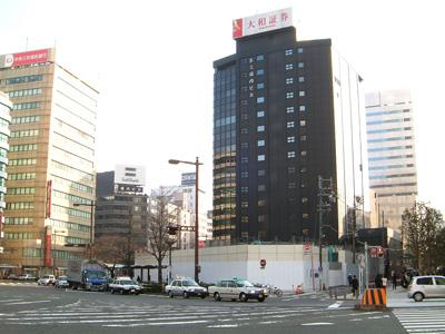取り壊しがすすむ名古屋ビル
