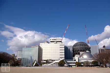 新たな球体が姿を見せた名古屋市科学館