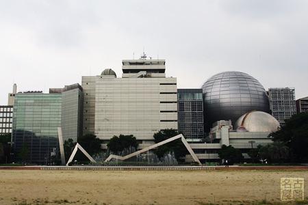 現在の名古屋市科学館 全体