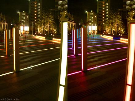 夜の名古屋ルーセントタワー