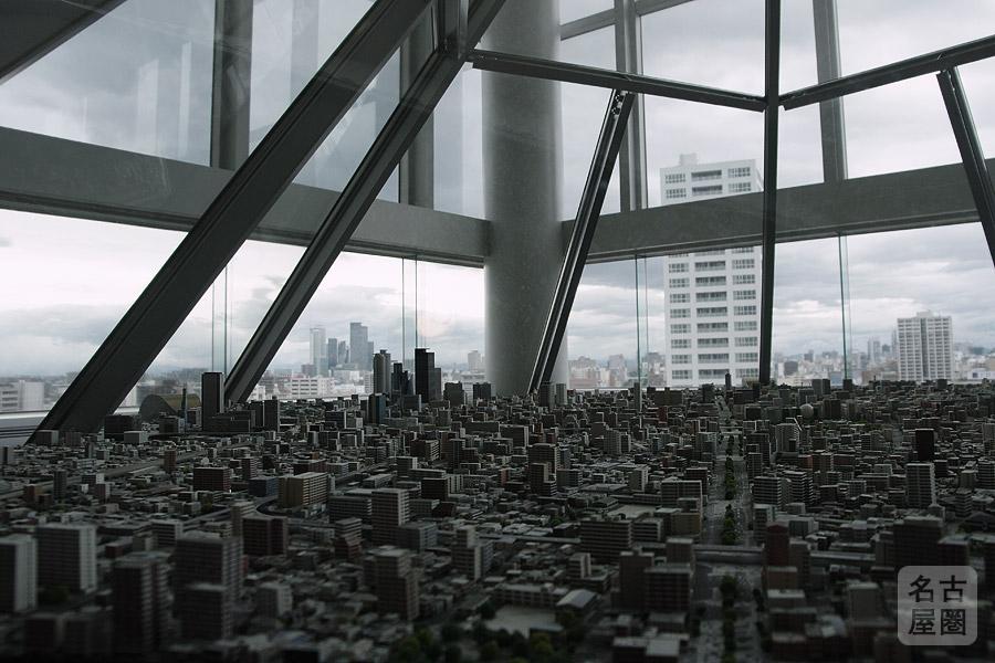 名古屋都市センター ジオラマ