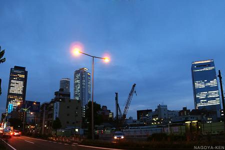 名古屋プライムセントラルプロジェクト敷地の今のようす
