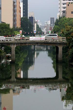 円頓寺七夕まつりの五条橋