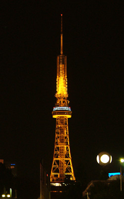 夜の名古屋テレビ塔