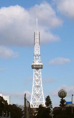 昼の名古屋テレビ塔