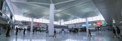 中部国際空港駅からつながるセントレアアクセスプラザ