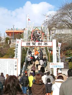 成田山の初詣