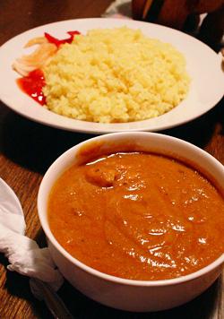 チキンカレー&ライス(大盛り)