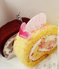 ロールケーキ「花見」&「ショコラ」