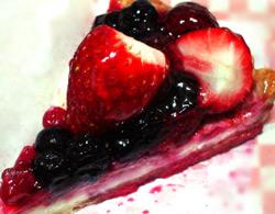 赤いフルーツのタルト、その2