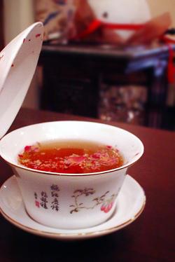 食後の中国茶