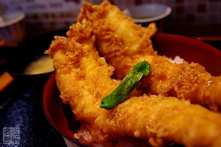 穴子天丼 日本坂パーキングエリア