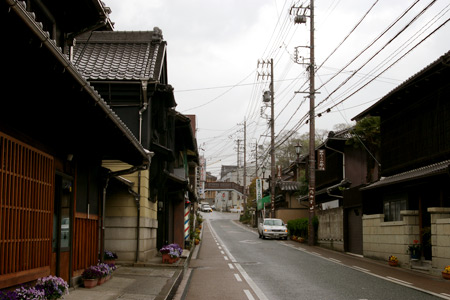 本町オリベストリートの街並み