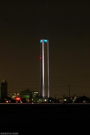 2007年11月4日のエレベータ試験塔