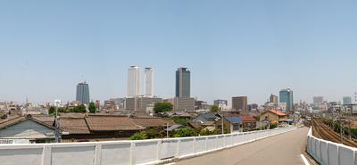 向野橋からのスカイライン(2006年5月25日)