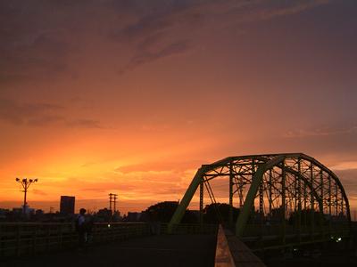 同じ時刻の向野橋