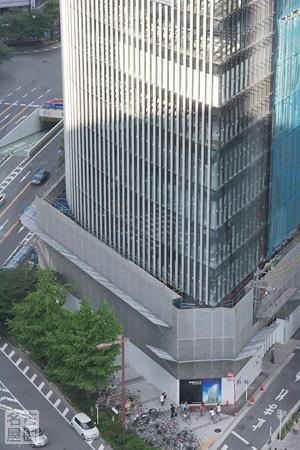 名古屋ビルディングの下部