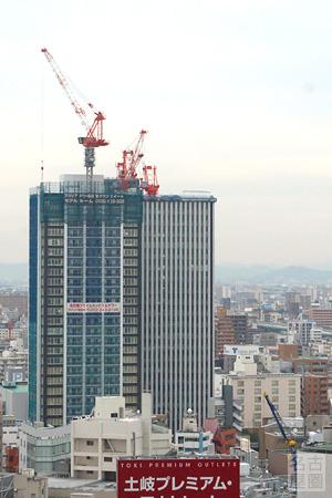 名古屋プライムセントラルプロジェクト方面