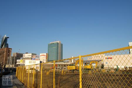 JICA敷地 2008年2月10日
