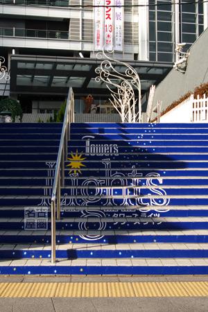 タワーズガーデンへの階段 タワーズライツ2007